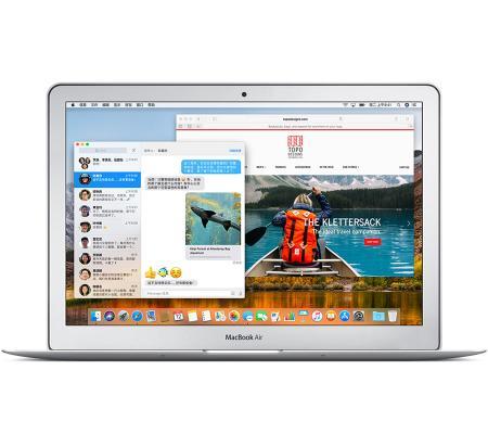 Apple MacBook Air 13.3英寸笔记本电脑 银色(2017款Core i5 处理器/8GB内存/128G...