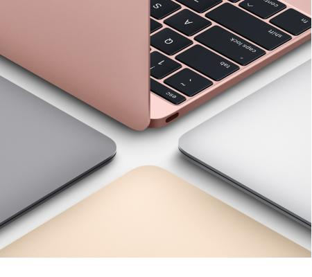 Apple MacBook 12英寸笔记本电脑 银色(2017款Core m3 处理器/8GB内存/256GB闪存 MN...